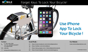 GPS And Alarm Secured Bike Lock App For Your iPhone