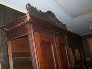 armoire wardrobe antique furniture