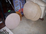 "Marble Table top Round 27"" $50.00 25 ½"" $45.00 20"